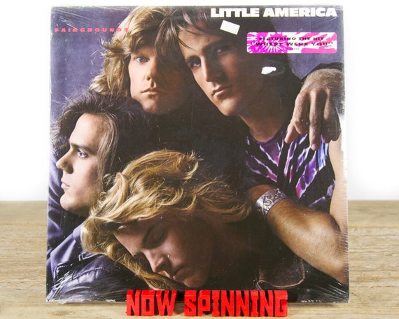 """Vintage Factory Sealed Little America """"Fairgrounds"""" (1989) Vinyl 12"""" Album LP / Antique 33 Vinyl Records / Rock Pop"""