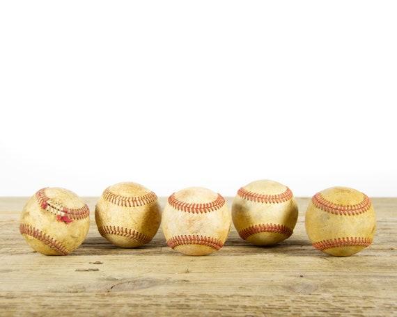 Vintage Old Baseballs for Decor / Vintage Baseball / Antique Baseball Decor / Baseball Decorations / Sports Decor