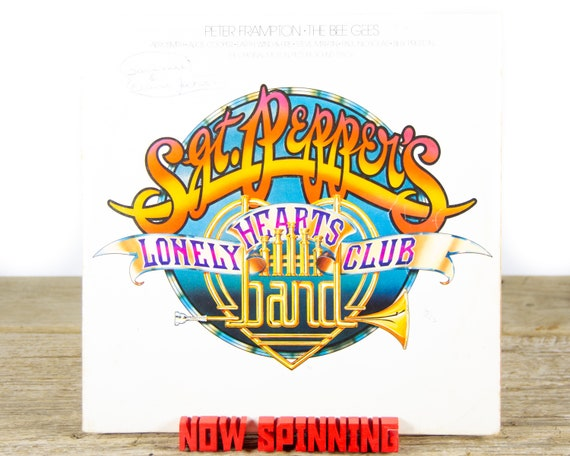 """Vintage Various """"Sgt. Pepper's Lonely Hearts Club Band"""" (1978) Vinyl Record / Rock and Roll / Pop Rock / Rock / Old Antique Vinyl Record"""