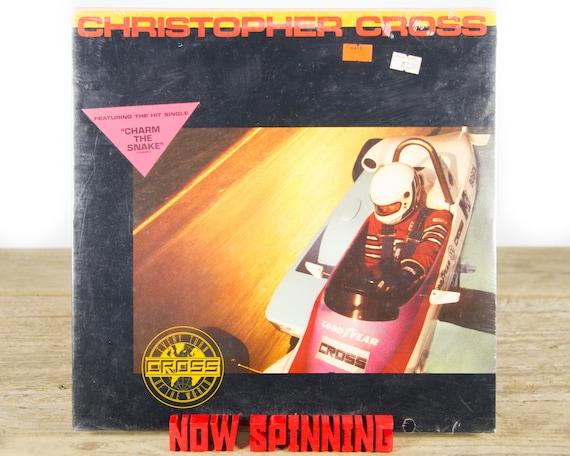 "Vintage Factory Sealed Christopher Cross ""Every Turn Of The World (1985) Vinyl 12"" Album LP / Antique 33 Vinyl Records / Rock Pop"
