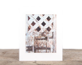 Original Fine Art Photography / Unique Photography / Pale Blue Door Decor / Signed Photography / Photography Prints / Color Photography