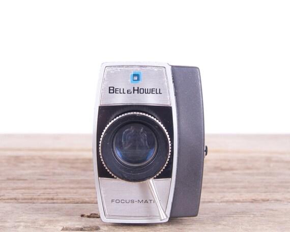 Bell & Howell Movie Camera / Super 8 Movie Camera / 8mm Movie Camera / Old Movie Camera / Optronic Eye - 1970's / Antique Movie Camera