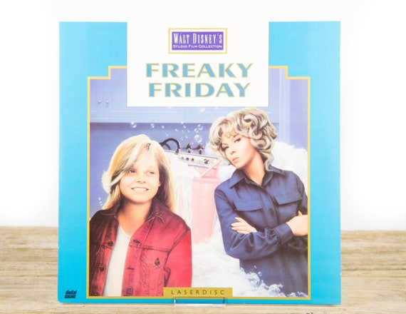 Vintage Disney Freaky Friday LaserDisc Movie / Disney Collectible / Movie Decor Collectible