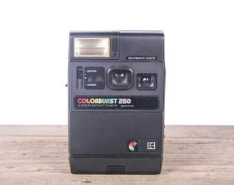 Vintage Kodak Camera / Vintage Kodak Colorburst 250 Camera / Old Instant Film Camera / Retro Camera / Camera Decor / Electronic Kodak Camera