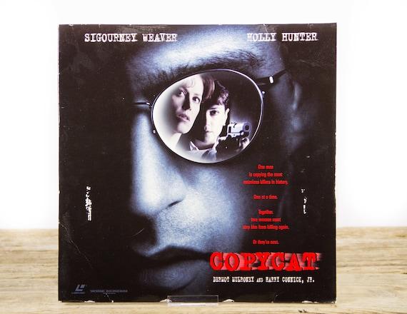 Vintage 1995 Copycat LaserDisc Movie / Vintage Laser Disc Movies / Movie Theater Decor / Movie Room Decor Movie Posters / 90s Decor