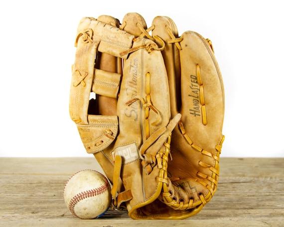 Vintage Reach Company M1000 Super Monster Leather Baseball Glove / Vintage Softball Glove / Vintage Baseball Mitt / Baseball Decor