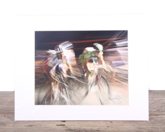 Original Fine Art Photography / Bike Racing Photography /Bike Gift / Photography Prints / Bicycle Print Gift / Bike Art / Bicycle Picture