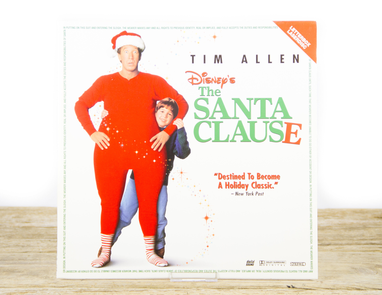 Vintage 1995 Disney The Santa Clause Laserdisc Movie Vintage Laser Disc Movies Movie Theater Decor Movie Room Decor Movie Posters
