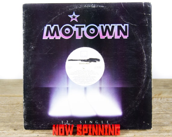 "Vintage Boyz II Men ""Uhh Ahh"" (Remix) 12"" Promo (1991) Vinyl Record / Funk / Soul / 90's Music / Old Antique Vinyl Record"