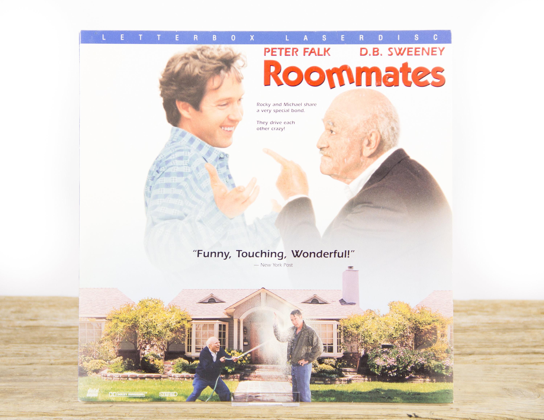 Vintage 1995 Roommates Laserdisc Movie Vintage Laser Disc Movies Movie Theater Decor Movie Room Decor Movie Posters 90s Decor