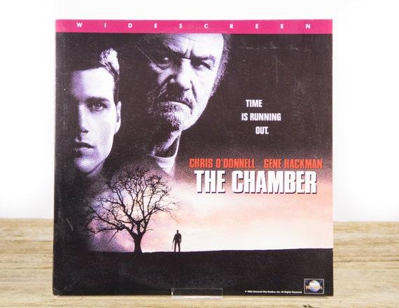 Vintage 1996 The Chamber LaserDisc Movie / Vintage Laser Disc Movies / Movie Theater Decor / Movie Room Decor Movie Posters / 90s Decor