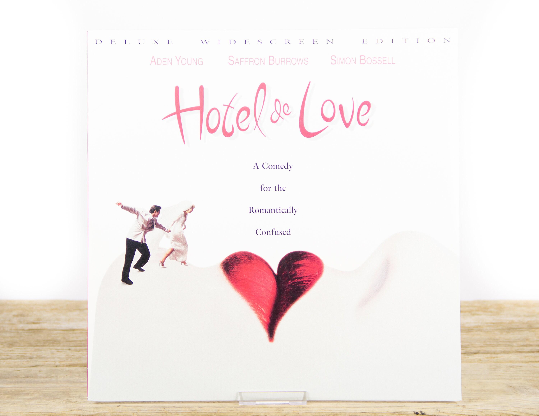 Vintage Hotel De Love Laserdisc Movie Vintage Laser Disc Movies Movie Theater Decor Movie Posters 90s Decor
