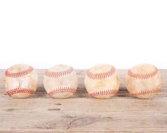 Old Baseball / Vintage Baseball / Antique Baseball Decor / Baseball Decorations / Old Baseball / Antique Baseball / Sports Decor