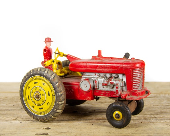 Vintage Marx Toy Reversible Diesel Electric Tractor from the 1950's