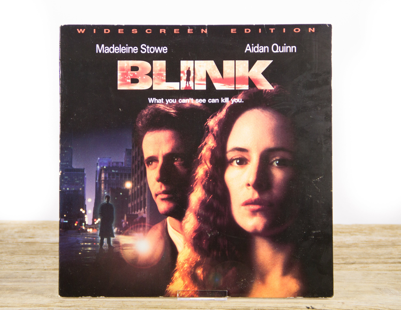 Vintage 1994 Blink Laserdisc Movie Vintage Laser Disc Movies Movie Theater Decor Movie Posters 90s Decor 90s Movie