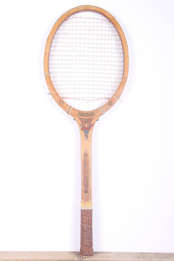 Raquette de Tennis en bois Vintage / Regent vol raquette de Tennis / Antique bois raquette de Tennis / Antique raquette de Tennis / Sports Decor