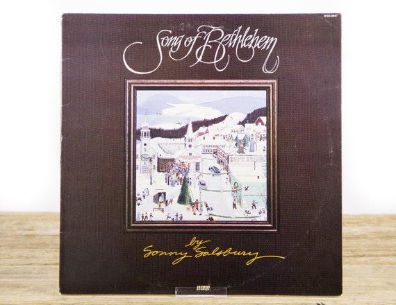 "Vintage Christmas Vinyl Record / Sonny Salsbury ""Song of Bethlehem"" (1983) 33 Vinyl Record / Xmas Music / Folk / World"
