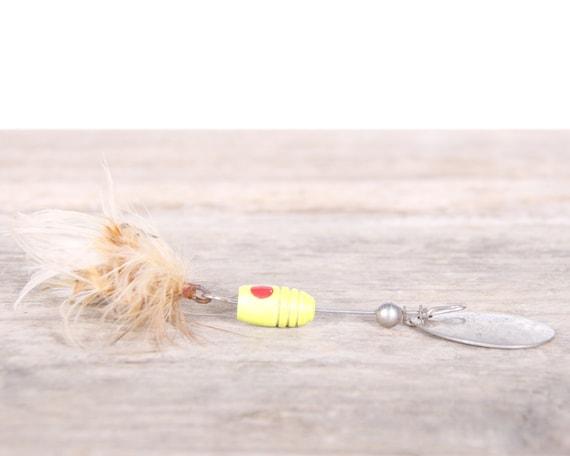 Metal Fishing Lure / Hildebrandt 3.5 Fishing Lure / Spin Bait Fishing Decor / Vintage Fishing Lure / Antique Fishing Lures Dad Fishing Lure