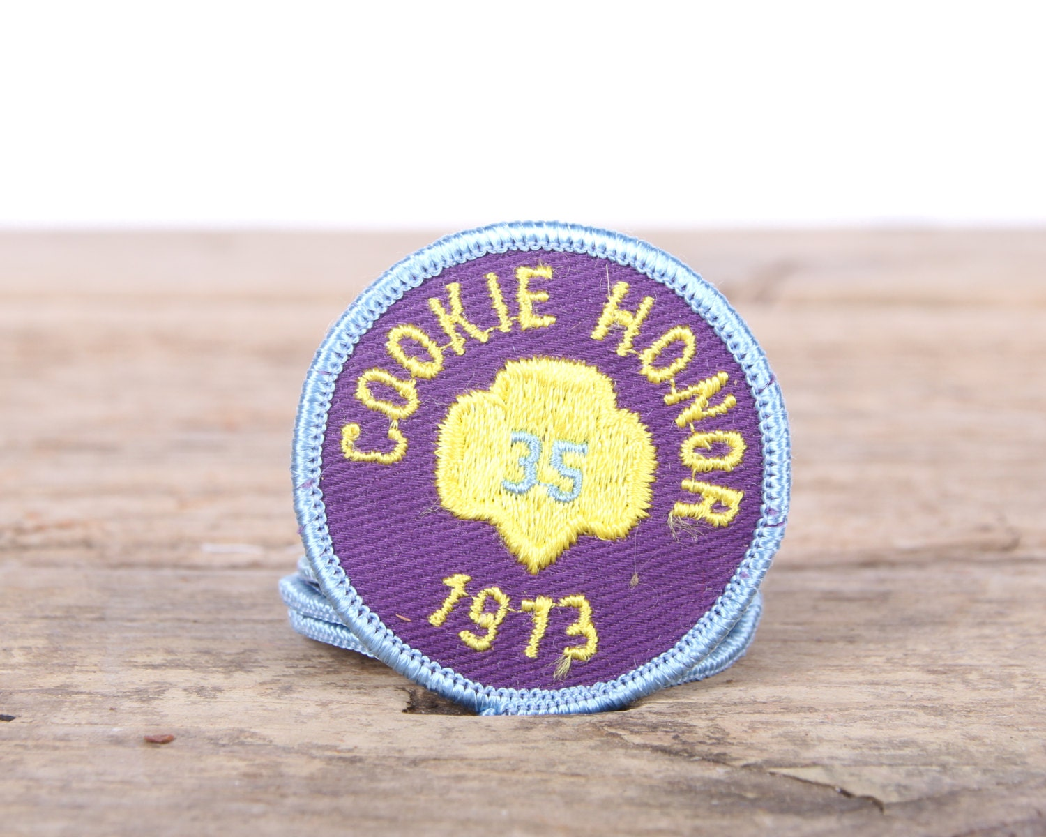 Scout Patch / 1973 Cookie Honor Patch / 2 Girl Scouts Patch