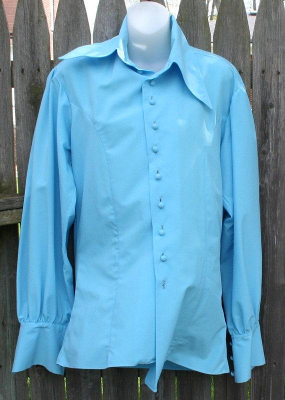 1970s Pants Shirt Vest - image 10