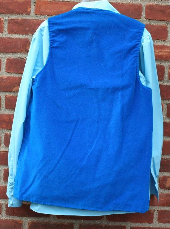 1970s Pants Shirt Vest - image 7