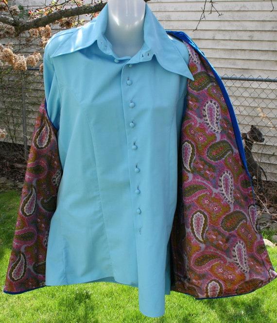 1970s Pants Shirt Vest - image 9