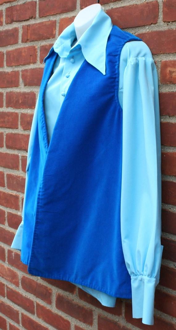1970s Pants Shirt Vest - image 6