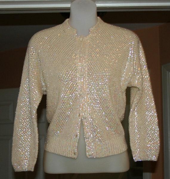1950s Sweater Sequins