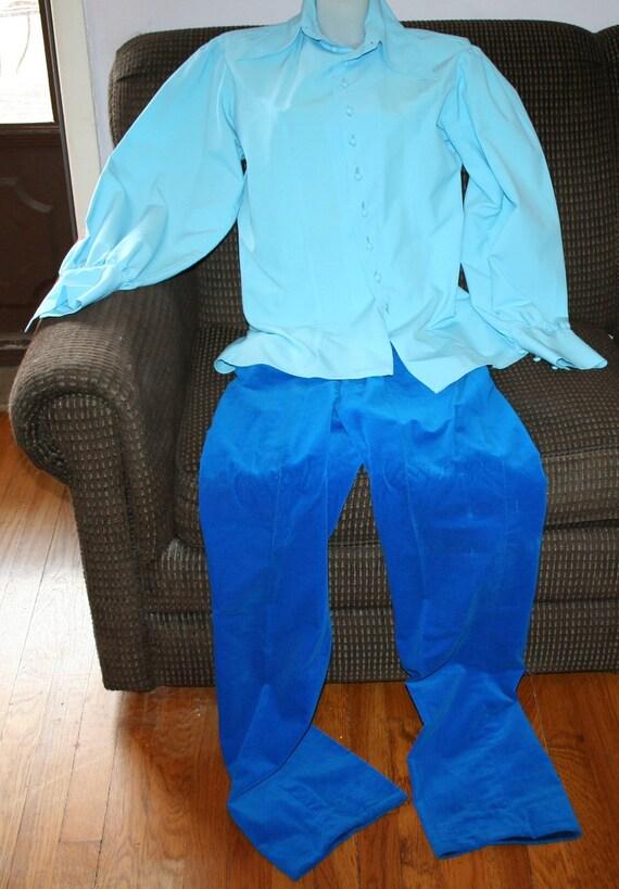 1970s Pants Shirt Vest - image 4