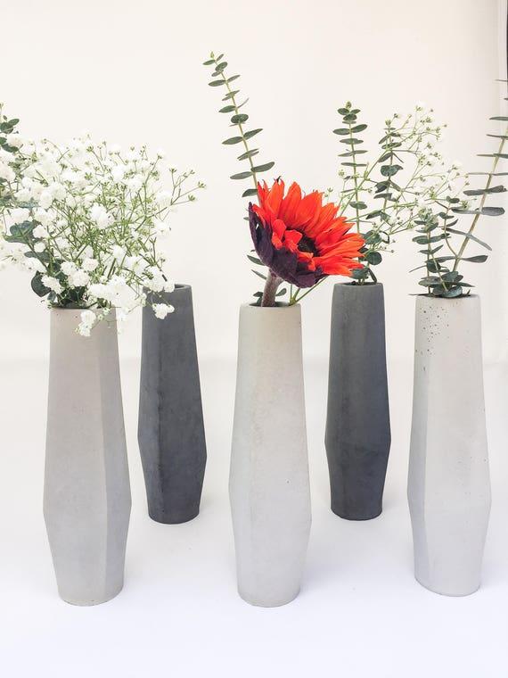 259 & Flower Vase Mid Century Modern Gift for Mom Vase for Centerpiece Modern Vase Gift Minimal Wedding Gift Modern Home Decor