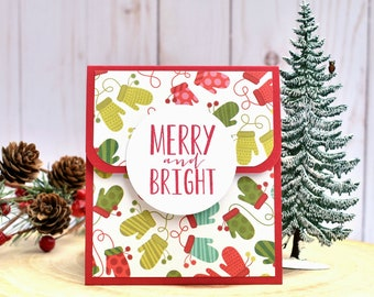 christmas gift card holder holiday gift card holder set gift for neighbor teacher christmas gift coworker christmas gift giftcard