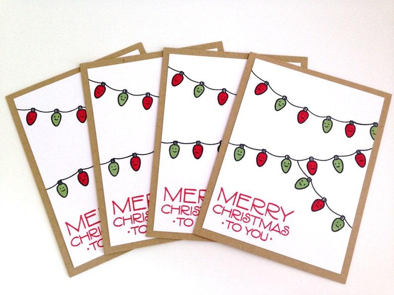 Unique Boxed Christmas Cards.Unique Christmas Card Set Boxed Christmas Cards Cute Merry Christmas Card Holiday Card Set Stamped Christmas Card Christmas Lights