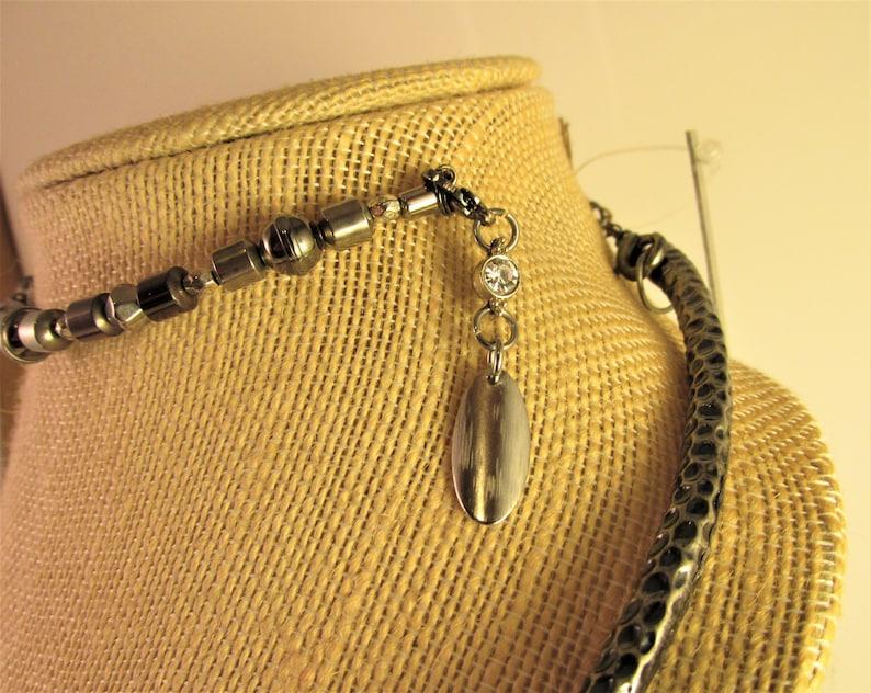 Snake Metal Wrap Necklace