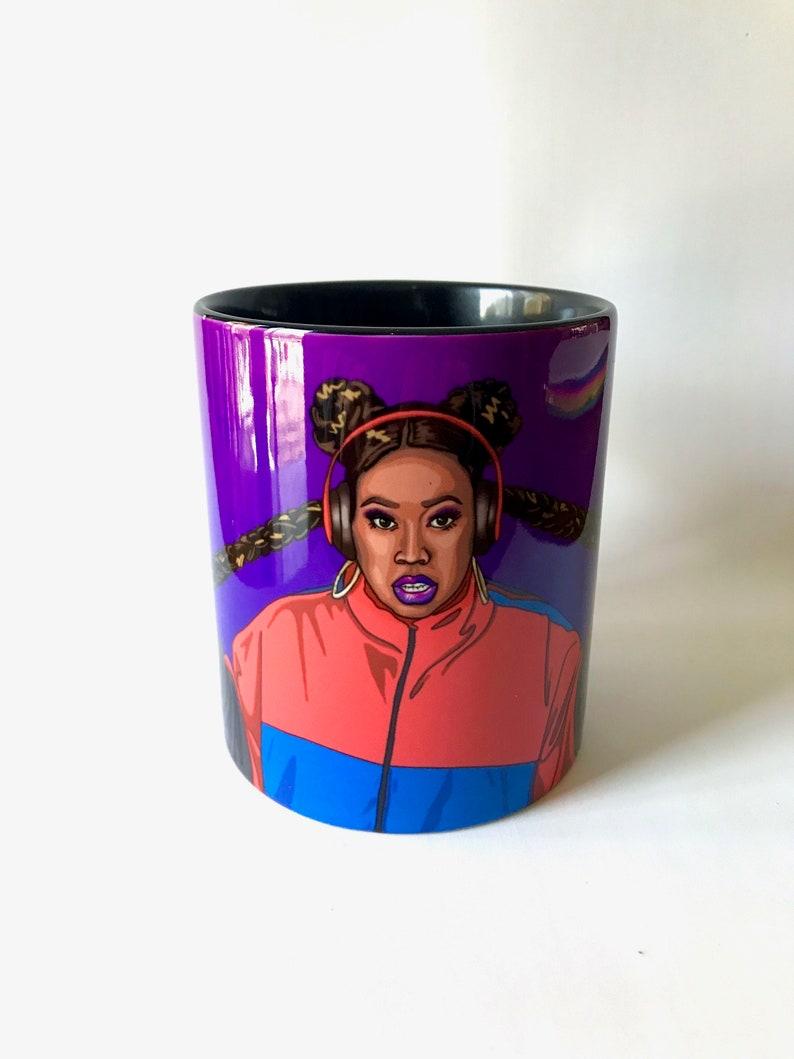Missy Elliott Mug Throw it Back Portrait Coffee Cup Mug image 0