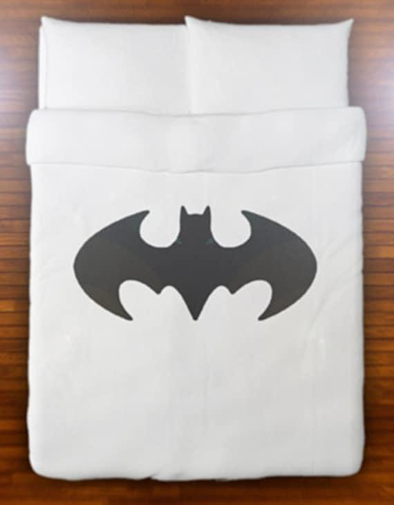 Lenzuola Matrimoniali Snoopy.Batman Duvet Cover Bedding Retro Bat Logo Sign Queen King Twin Etsy