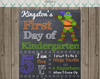 First Day of School Sign - Last Day of School Sign - Printable 8x10 First Day of School Photo Prop