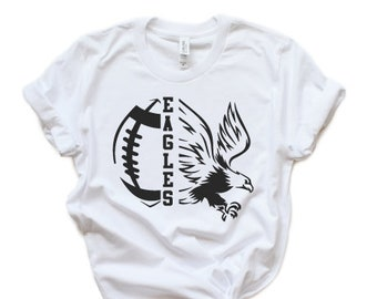 3c69ff17 Eagles SVG Football SVG Eagle T-Shirt Design Mascot Tailgate Grunge Mom  Shirt Fall Friday Night Lights Cricut Cut Files Silhouette School
