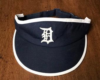 91a95db89c3 Vintage 80s 90s Detroit Tigers visor
