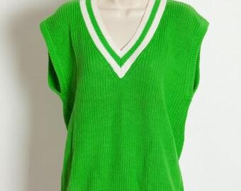 ea757115bb73 Vintage 80s 90s Womens Sweater Vest - CHAUS