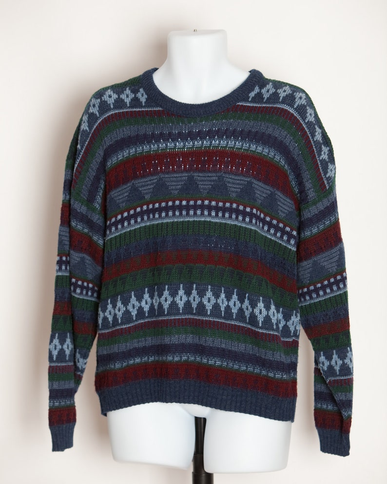 Vintage 80s 90s Men's Sweater The MENS STORE At SEARS - M