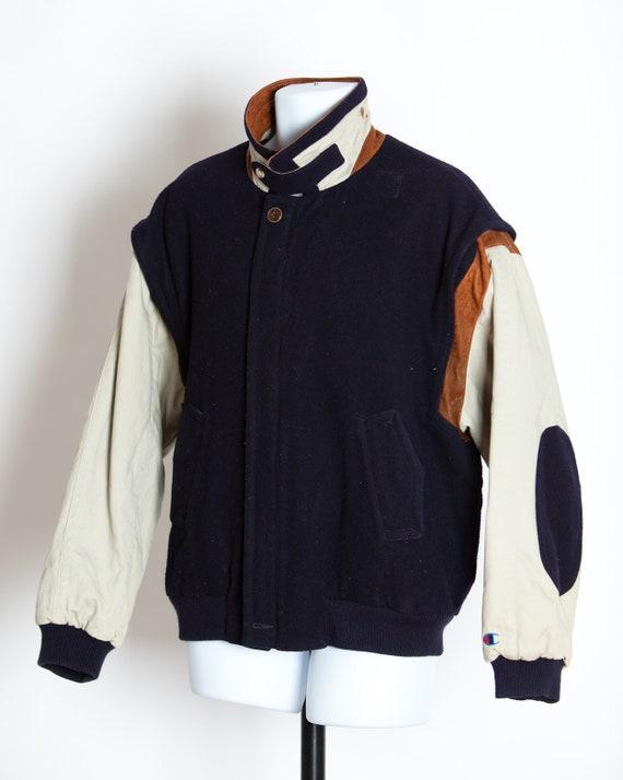 Vintage 80s 90s CHAMPION Jacket Coat - Large