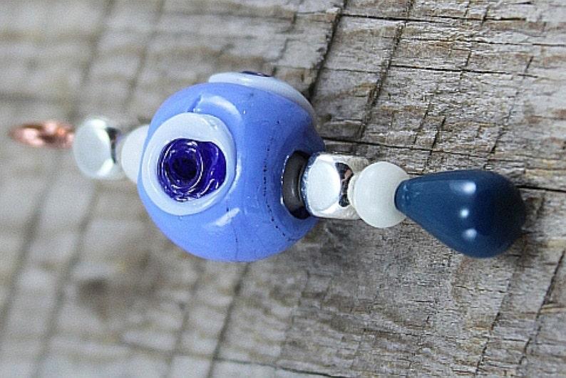 Light Blue Evil Eye Serenity Pendant