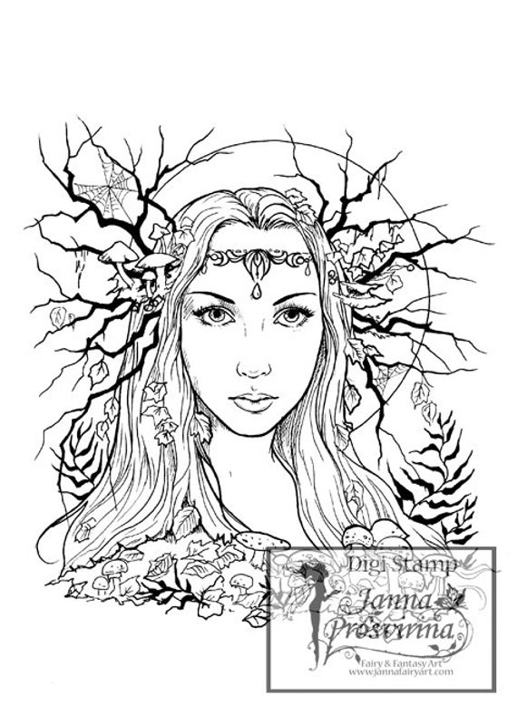 graphic relating to Stamp Printable named Electronic Stamp, Printable, Instantaneous down load, Digi stamp, Coloring web page, Artwork of Janna Prosvirina