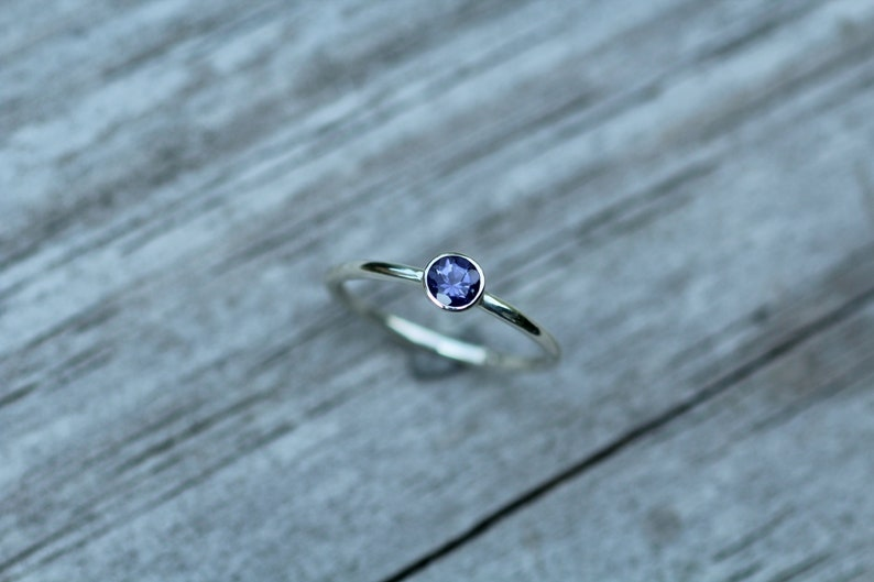 iolite stacking rings thin silver rings silver stacking ring sterling silver iolite iolite jewellery iolite rings stacking ring sets