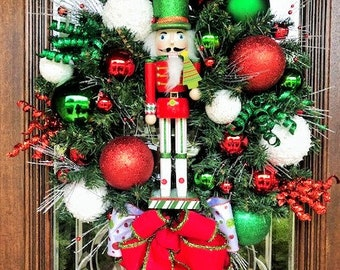 Nutcracker Wreath Etsy