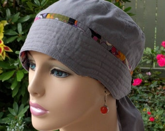 Cancer Cap Chemo Hats for Hair Loss Adjustable Soft Cotton Chemo Hat Adjustable and Reversible MEDIUM