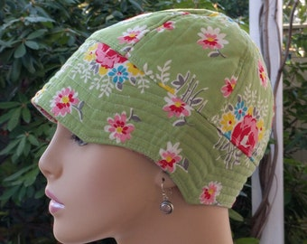 Chemo Hat ON SALE Soft Cancer Cap Alopecia Hat Reversible  Small/Medium