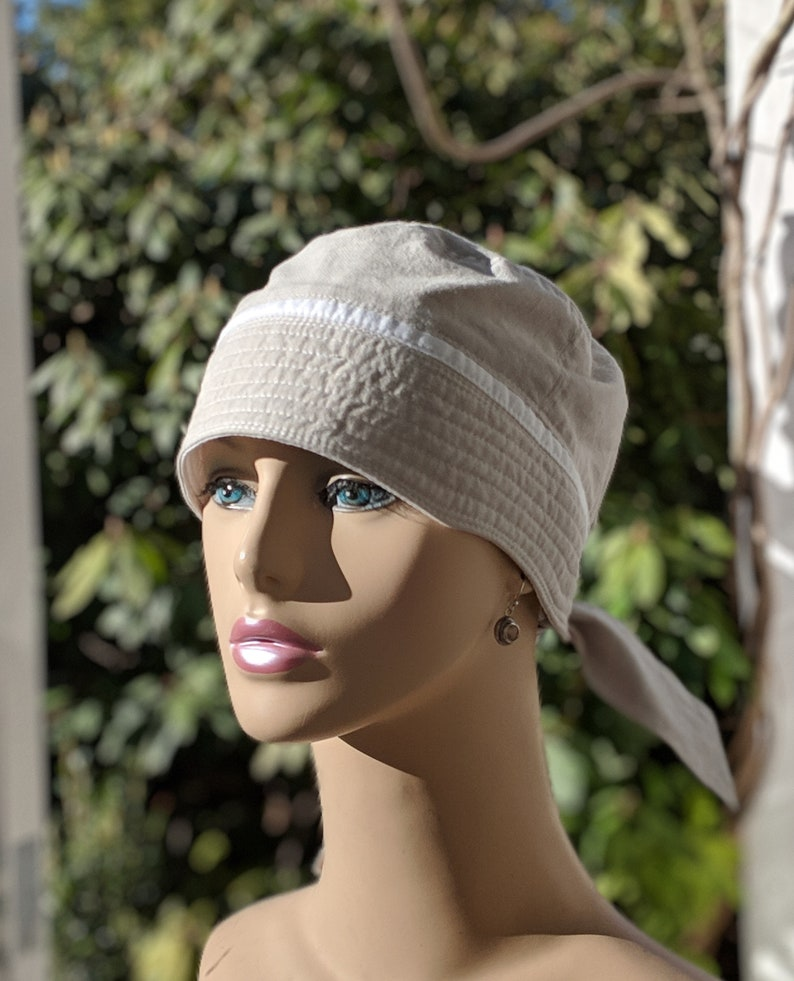 Womens Chemo Hat   Chemo Caps   Summer Cancer Cap MEDIUM  9fe2b53ae7a