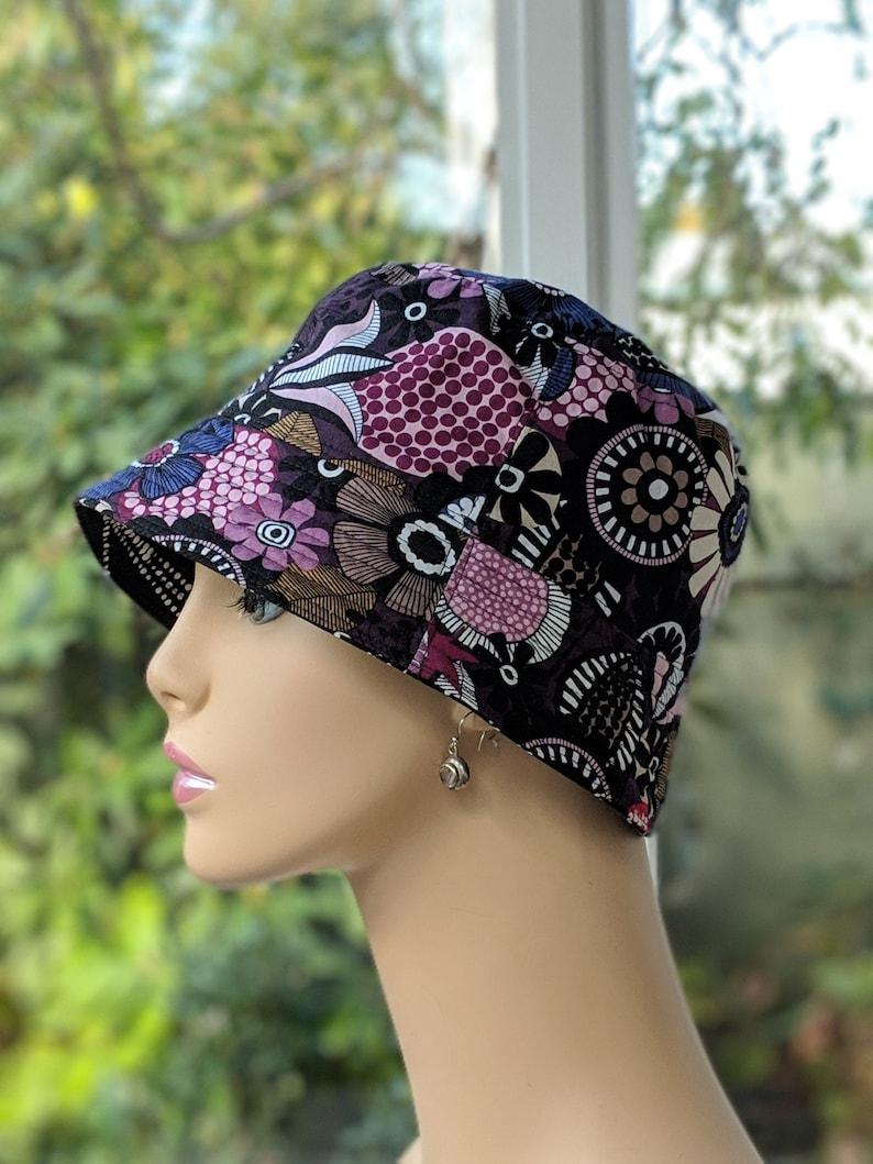 7e89a341a18 Cancer Hats   Chemo Hat   Handmade Chemo Headwear   MEDIUM