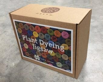 Plant dyeing jigsaw  - 1000 piece jigsaw